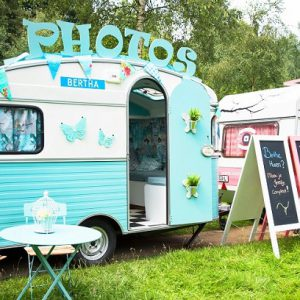 Caravan photobooth