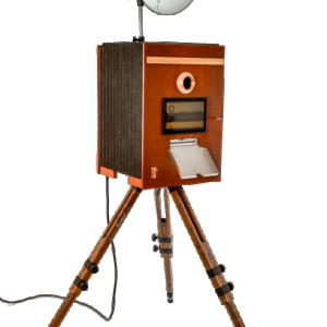 Retro fotopaal photobooth huren Belgie